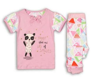 Ružové detské dievčenské pyžamo Minot