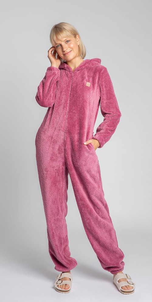 Dámsky hrejivý pyžamový overal