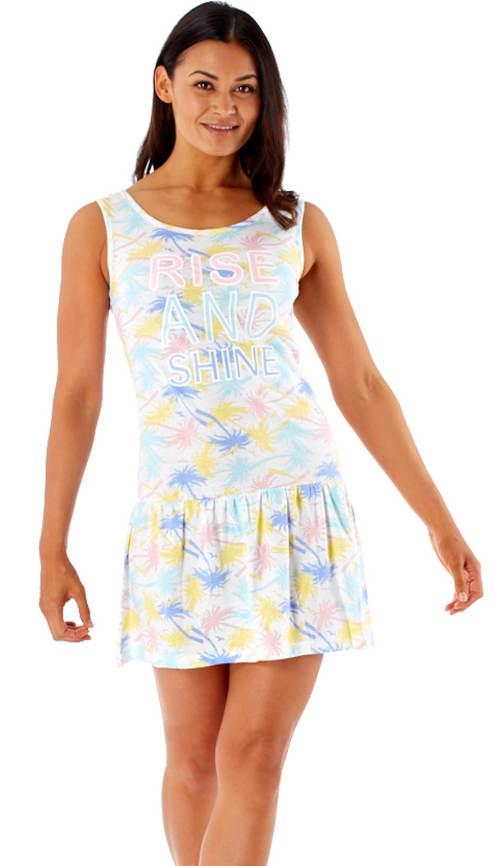 Ľahké dámske pyžamové šaty