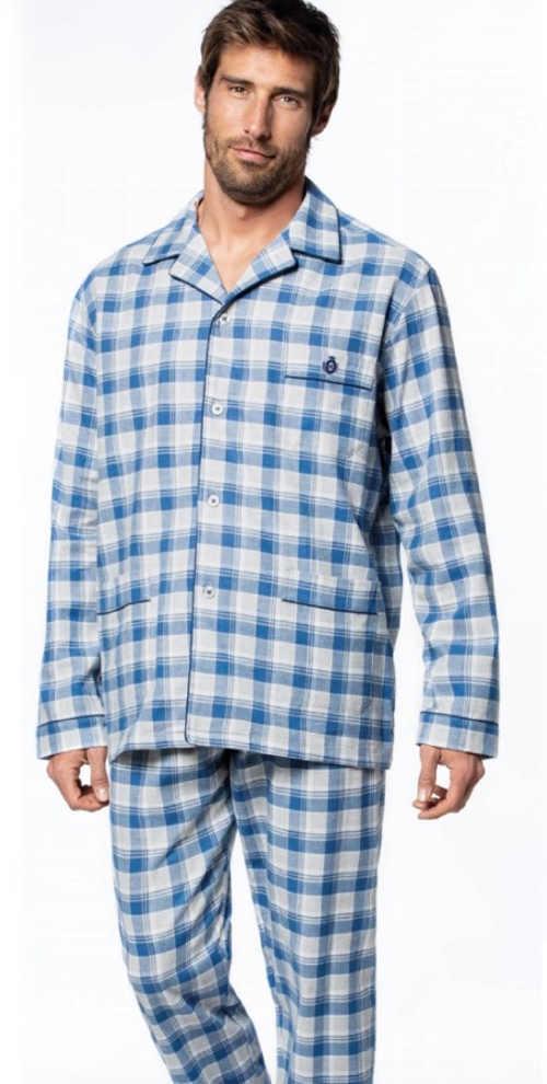 Pánske moderné zapínacie pyžamo