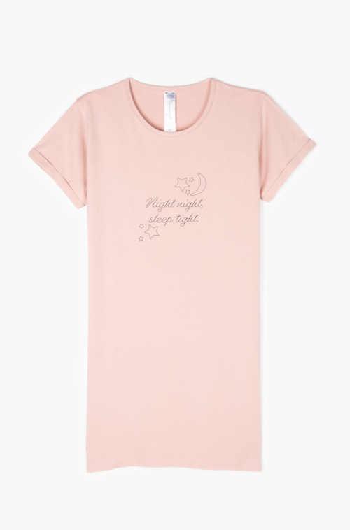 Dámska nočná košeľa v krátkej dĺžke