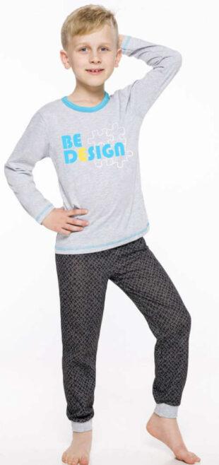 Moderné detské pyžamo Taro s dlhými rukávmi a nohavicami