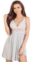 Pohodlná nočná košieľka s širšou sukienkou