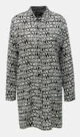 Voľná dámska nočná košeľa s nápismi DKNY
