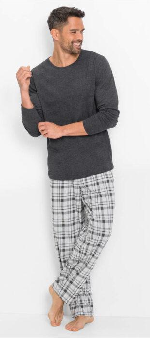 Pánske pyžamo s dlhými rukávmi a nohavicami