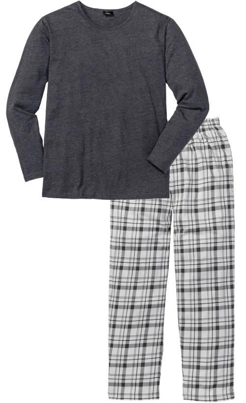 Šedé pánske pyžamo