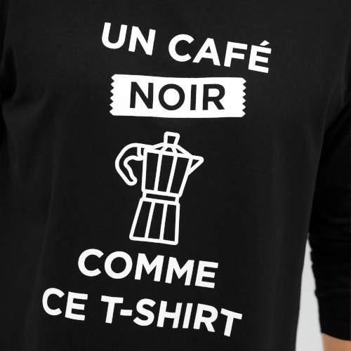 Čiernobiele pyžamové tričko s nápismi