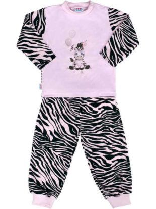 Detské pyžamo zebra s roztomilým obrázkom zebry