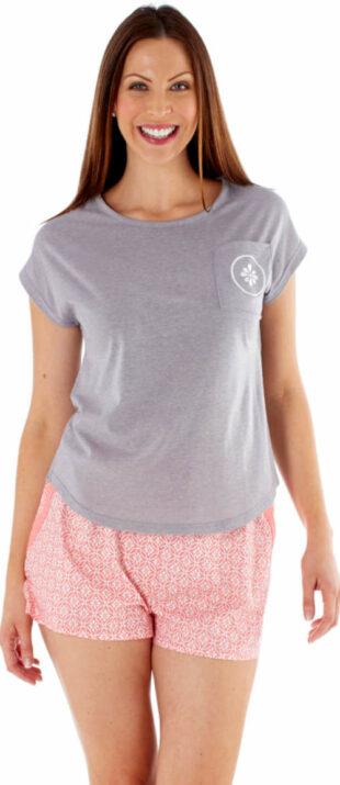 Pohodlné letné pyžamo Fordville s tričkom s krátkym rukávom