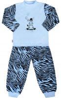 Detské bavlnené pyžamo New Baby Zebra s balónom