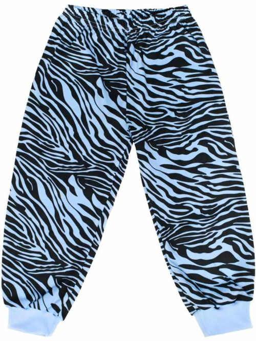 Detské pyžamové nohavice Zebra