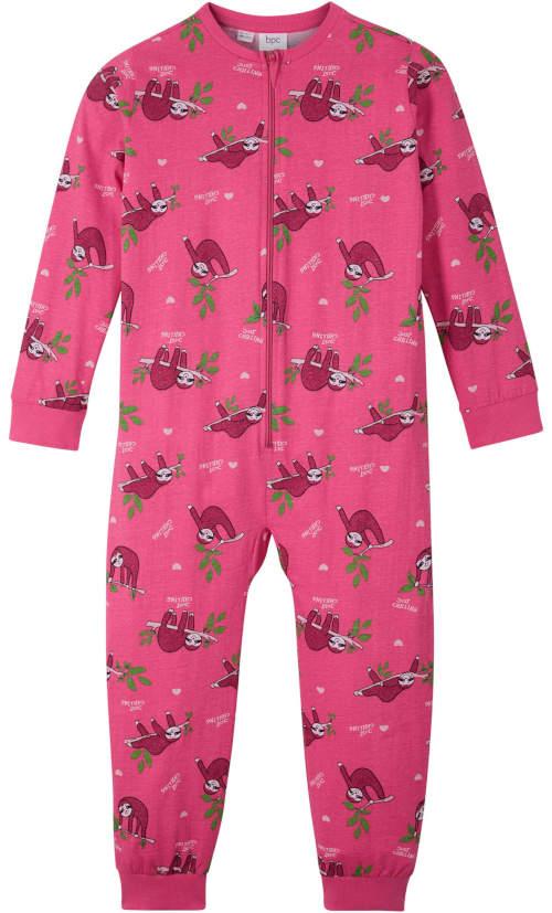 Ružová detská súprava na spanie s leňochodom